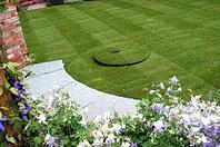 Рис.3 Партерный газон в романтическом саду. Англия. Челси