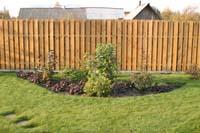 Рис.2 Деревянный забор