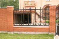Рис.3 Комбинированный забор