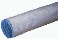 Рис.12 Полимерная дренажная труба с обмоткой из геотекстиля